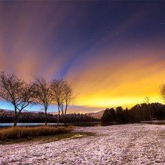 Trierenberg first snow