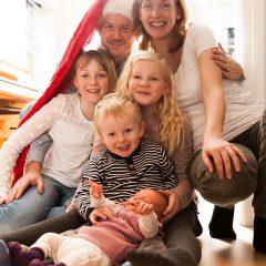 famililie bilde hjemme